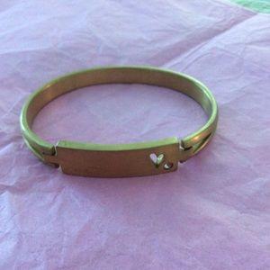 VGUC Thirty-One Heart Bracelet